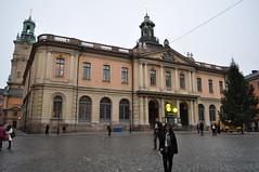 Нобелевский музей. STOCKHOLM. Stortorget. Nobelmuseet