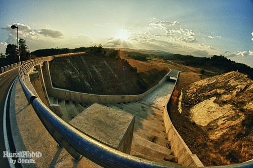 Lechago Water Reservoir fisheye view | by guailon79