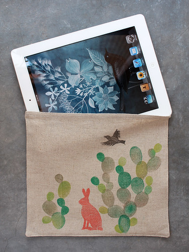 iPad cozy | by Geninne
