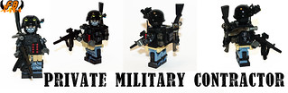 Private Military Contractor | by Brick Mercenaries Custom Minifigures