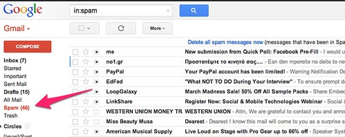 Gmail - Spam (46) - cspenn@gmail.com | by Christopher S. Penn