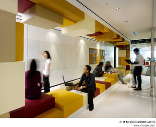 Creative office design by M Moser Associates | by M Moser Associates | Interior Design Architecture