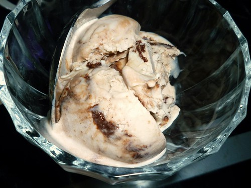 Ice Cream: Chestnut with brandy & Espresso Hot Fudge swirl | by lili.chin
