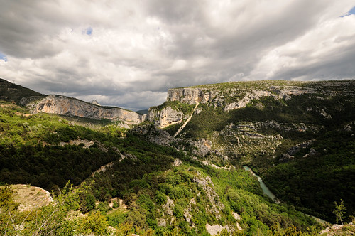 Heavy sky - Verdon Gorge - France | by PascalBo