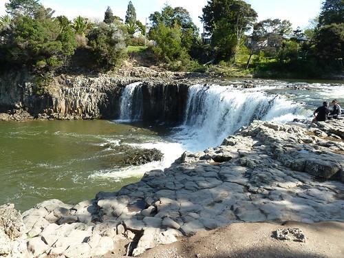 Haruau Falls on the Waitangi River