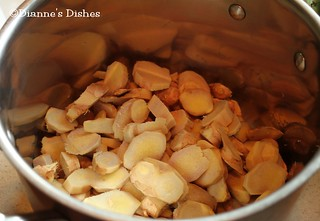 Make Your Own Ginger Ale: Chopped Ginger Ready For Water | by Dianne's Dishes
