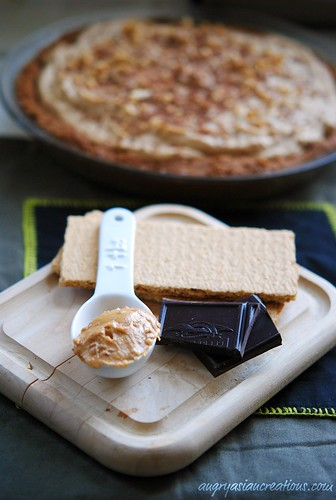 Soy Peanut Butter Chocolate Pie | by Lan | MoreStomachBlog