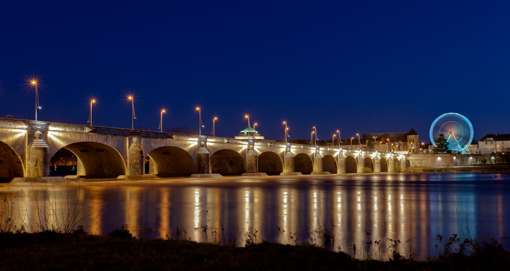 La Loire - pont Wilson - Tours