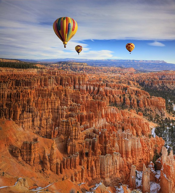 Bryce canyon balloon festival