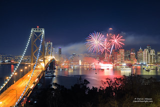 San Francisco New Years Fireworks - Happy New Year 2012 | by Darvin Atkeson