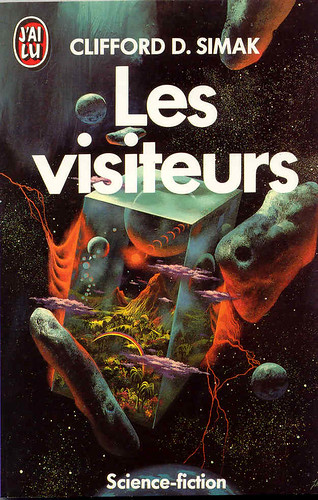 French - Clifford D. Simak - The Visitor - cover artist Paul Lehr
