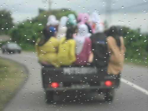 Women in a truck | by East Asia & Pacific on the rise - Blog