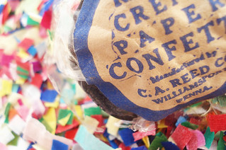 Vintage Confetti | by such pretty things