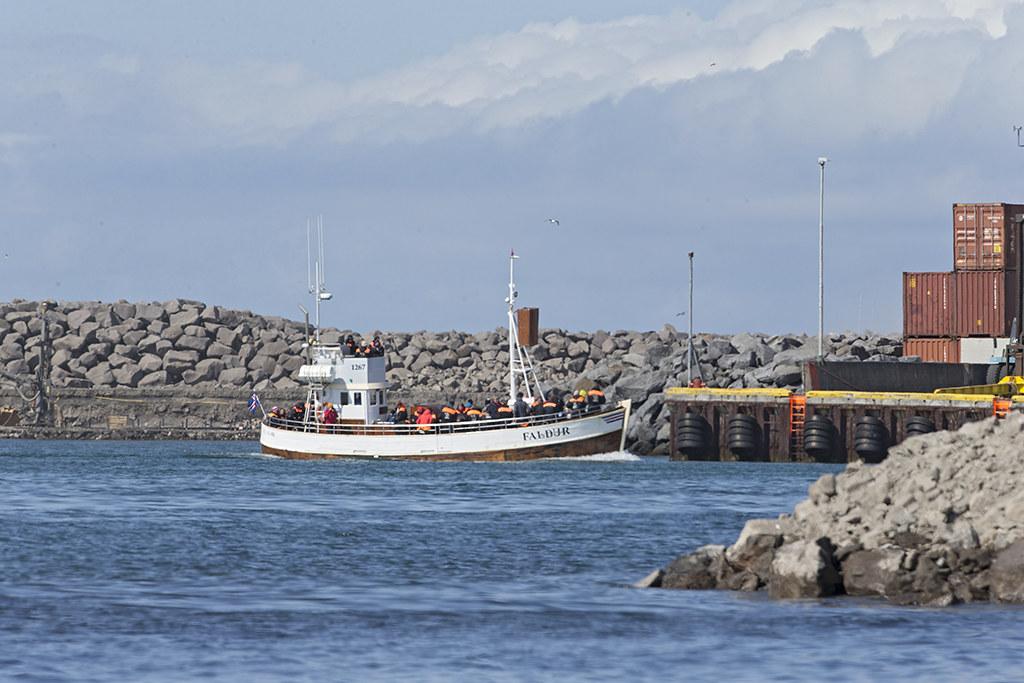 Husavik Harbour   Iceland