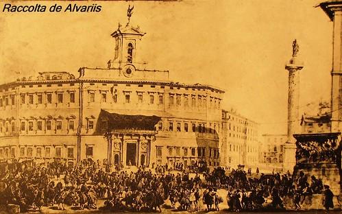 1745 ca 2011 l 39 estrazione del lotto in piazza di montecito for Montecitorio oggi