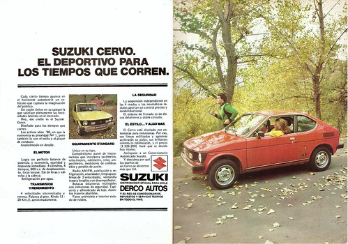 Suzuki Cervo 1980 Octubre Mecánica Popular Chile