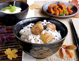 Japanese Autumn Meal | by Okashi and Cats