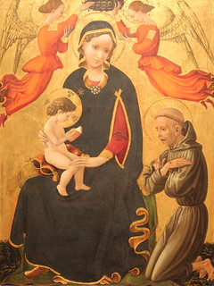 Madonna and Child with Saint Francis | by Itinerant Wanderer