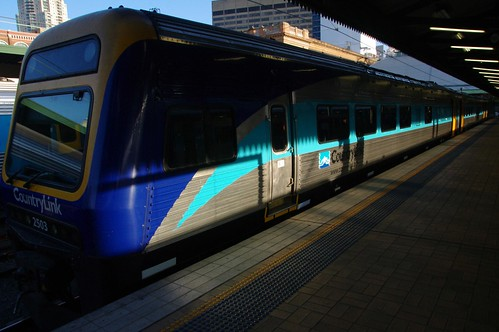 Countrylink train casino to sydney