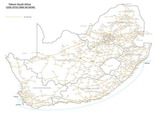 South Africa - Telkom National Fibre Network | by Steve_Song