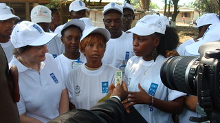 Helen Clark's visit to Guinea, January 2012 | by United Nations Development Programme