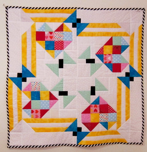 Free Quilt Patterns With Hearts : Hearts and Butterflies Doll Quilt / Preemie Baby Quilt - F? Flickr
