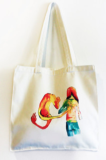 ADAM&IVY Tote Bag | by INVERTEDCOMMAS