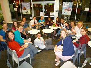 After Swing Dancing: Eating frozen yogurt! - From here on out, these pictures were stolen from other people because I couldn't find my camera for a bit :O | by thedoctor8706_Older_Account
