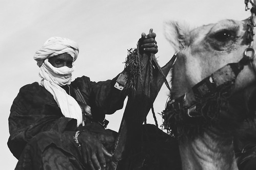 Tuareg at the Festival au Desert near Timbuctu, 2012 | by Alfred Weidinger