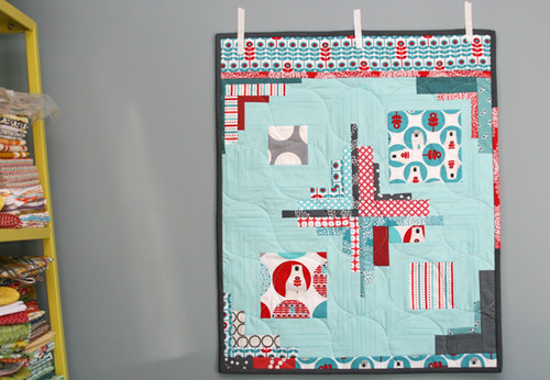 brrr! mini quilt | by filminthefridge
