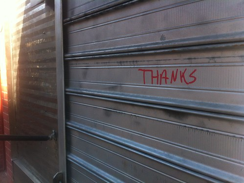 thanks | by Bedford Bowery