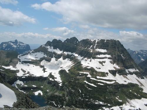 Climbing Reynolds Mountain in Glacier National Park, Montana