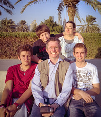 Family Portrait Corniche III Revisited