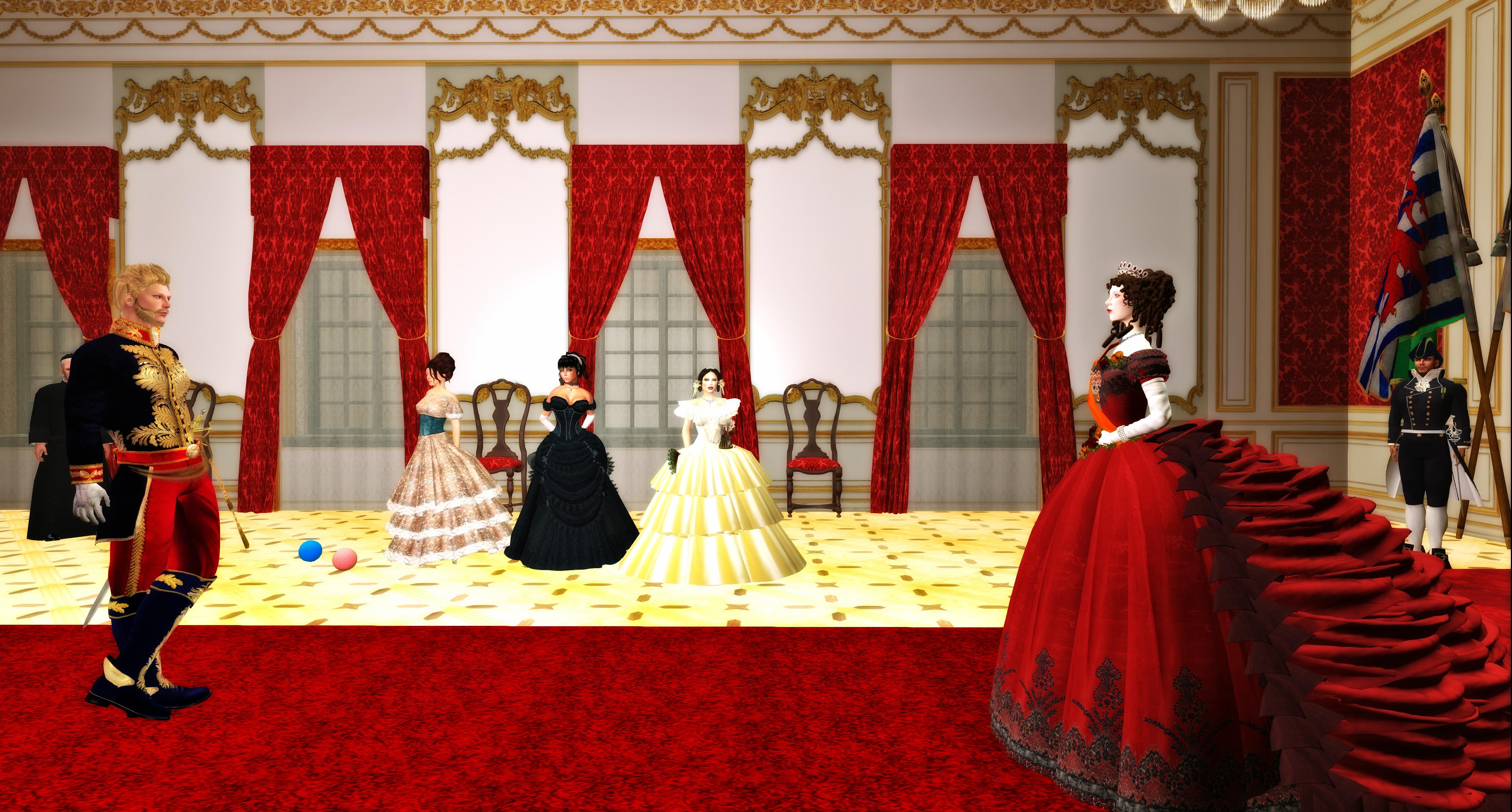 Imperador do Brasil, D. Pedro II und Sa Majeste Sophie de Wurtemberg