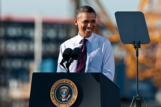 U.S. President Obama Speaks at Intel's Fab 42 | by Intel Photos