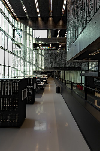 wiel arets - utrecht university library | by abbozzo