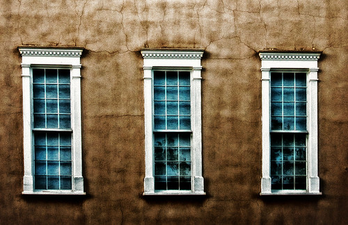 Three Santa Fe windows | by Dennis Herzog