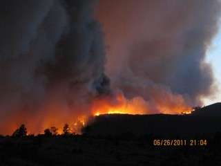 Las Conchas Fire - Apache Mesa | by NM Fire Info