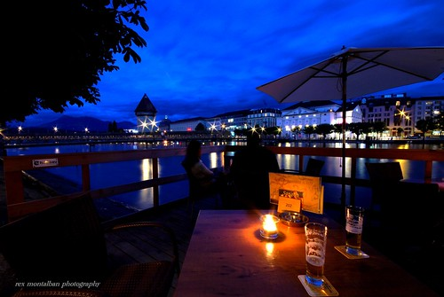 beers in the blue hour | by Rex Montalban Photography