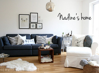 Nadine s beautiful home featured on my blog the style for Style et tendance deco
