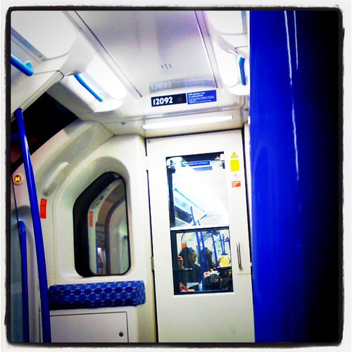 I live on the Victoria Line. I feel like I'm inside R2D2 whenever I begin a journey... | by Lex Machina