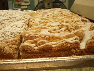 Crumb cake, Cameo Cakes, Brielle NJ | by cakespy