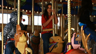 Xiuhtezcatl Martinez on the Carousel of Happiness in Nederland, Colorado | by OurChildrensTrust