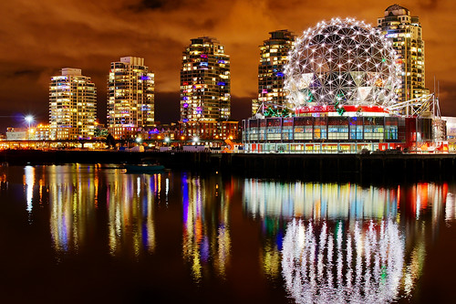 Vancouver Science World Night View | by TOTORORO.RORO