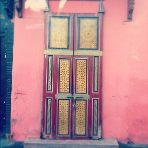 Marrakech Door 2 | by Elissa @ 17 and Baking