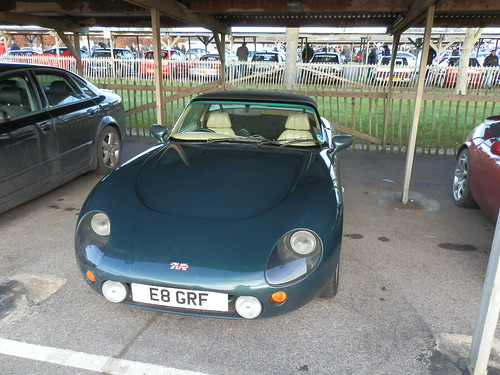 tvr griffith a tvr griffith at the goodwood sunday service flickr. Black Bedroom Furniture Sets. Home Design Ideas