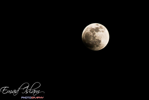 Lunar Eclipse - I | by Emad Islam