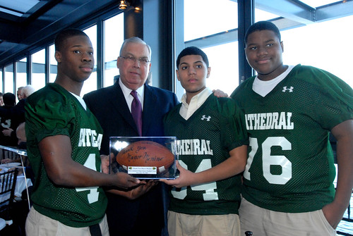 Cathedral Football Lunch | by City of Boston Mayor's Office
