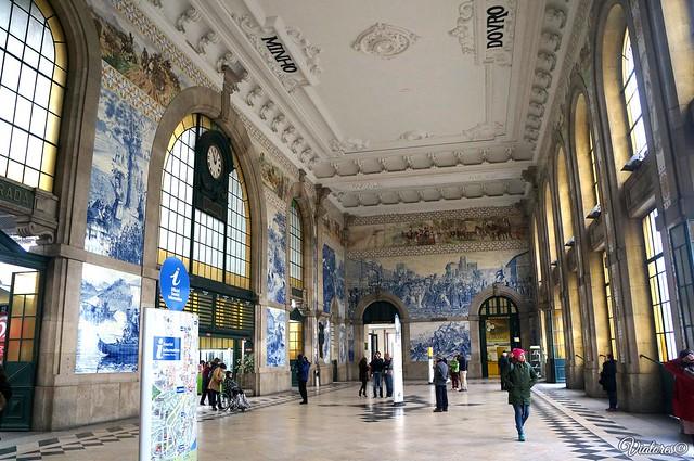 Estação São Bento. Porto. Portugal