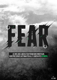 Fear Typography | by dm2studios